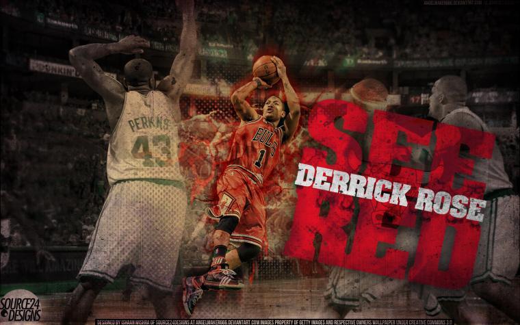 Derrick Rose MVP Wallpaper by Angelmaker666 on deviantART