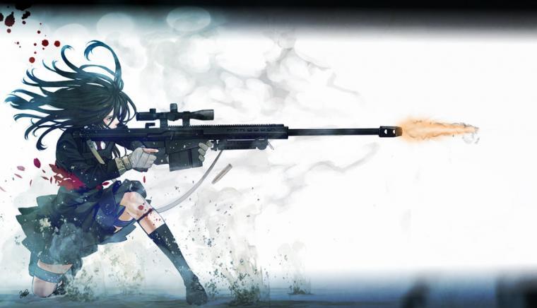 Anime sniper girl Wallpaper by Nolan989890