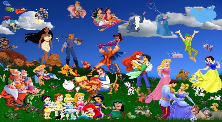Walt Disney Animation Cartoon Wallpaper 10680 Wallpaper