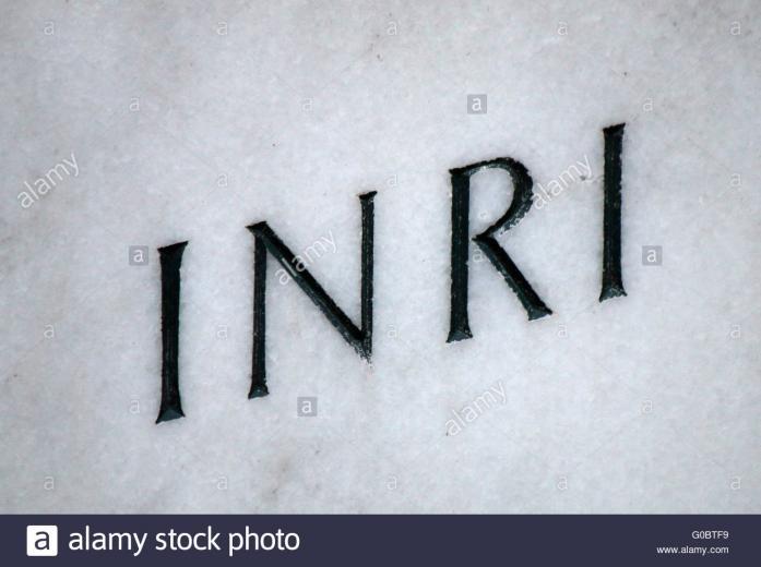 INRI Berlin Stock Photo 103522925   Alamy