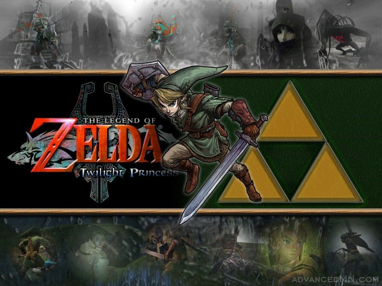 Pix For Link And Zelda Twilight Princess Wallpaper