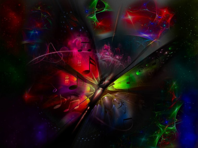cool neon butterfly backgrounds