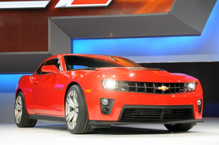 2012 Chevrolet Camaro ZL1 Pictures and Wallpapers