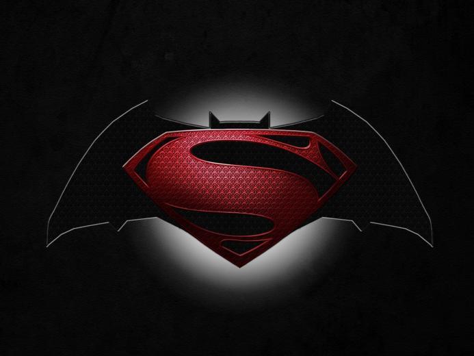 Cool Batman V Superman Symbol Wallpaper Wallpaper with 1600x1200