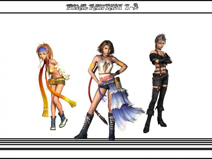 Main Playable Characters   Final Fantasy X 2