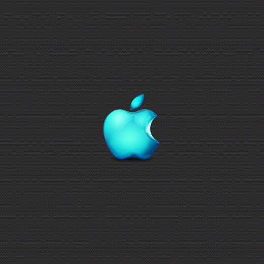 Apple Seablue Color iPad Wallpaper Download iPhone Wallpapers iPad