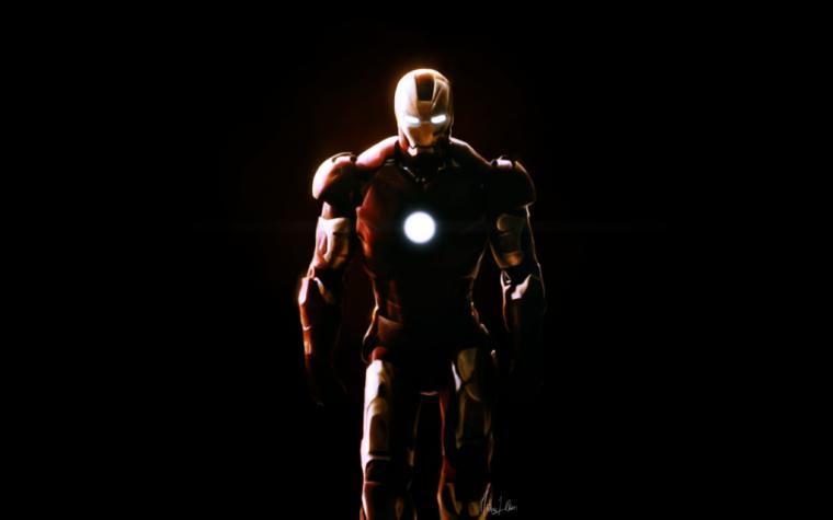 Iron Man Face Paint HD Wallpaper Background Images