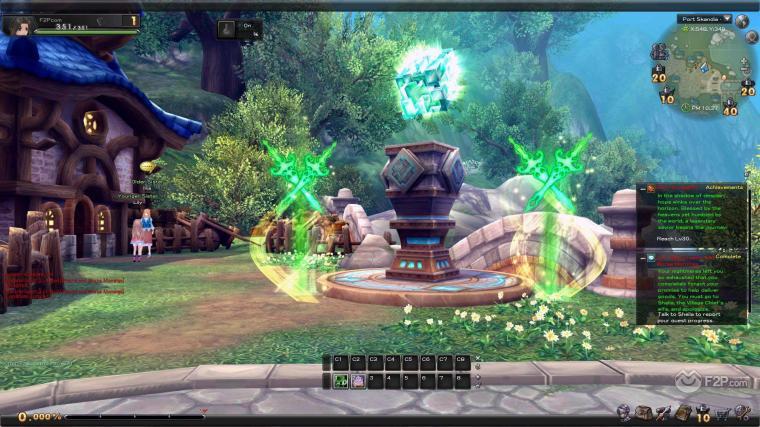 Aura Kingdom Exclusive Early Look Screenshots