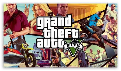Grand Theft Auto V HD wallpaper for HD 169 High Definition WQHD QWXGA