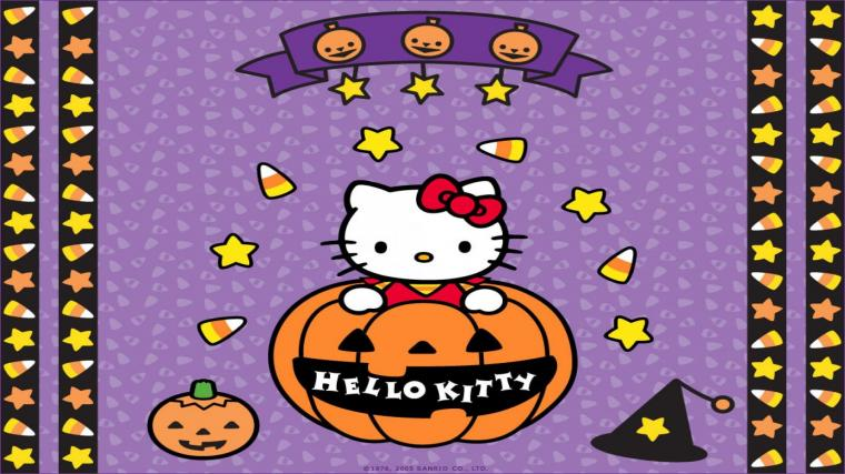 Download Hello Kitty Halloween Wallpapers