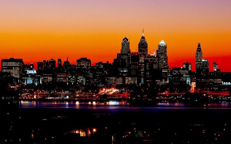 Night City Lights Hd Wallpaper