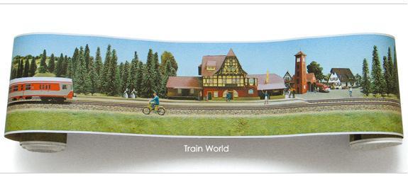 wallpaper border   Train World
