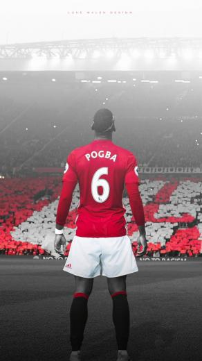 Luke Walsh on Twitter Paul Pogba Phone Wallpaper MUFC