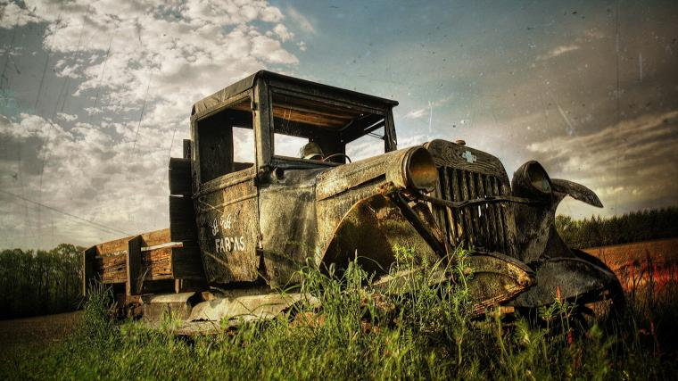 Vintage Trucks Wallpaper 1920x1080 Vintage Trucks Rusty