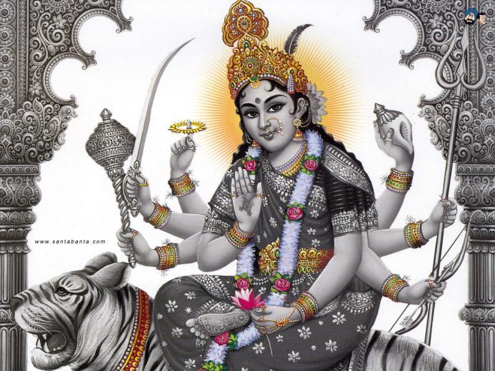 Download Goddess Durga HD Wallpaper 21