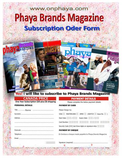 Magazine Subscription Order Form Image