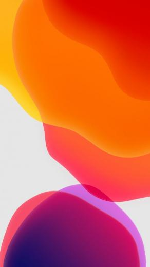 Wallpaper iOS 13 iPadOS abstract colorful WWDC 2019 4K OS