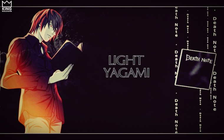 Light Yagami Wallpaper   Death Note by Kingwallpaper