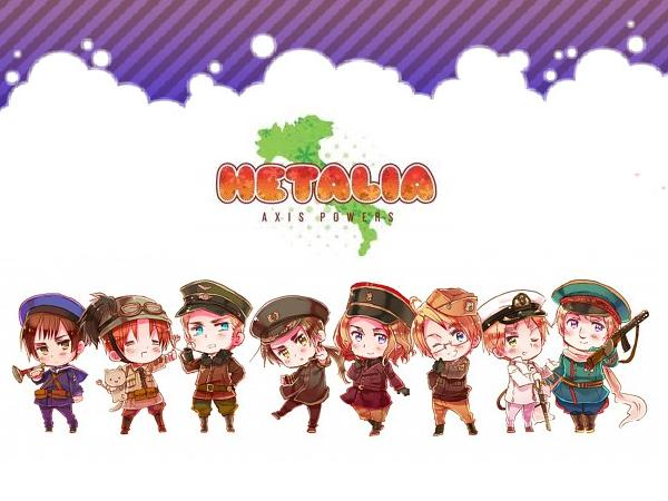 Hetalia Wallpaper by HazelLevesque24