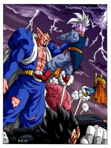 Dragon Ball Z images Dabura vs Gohan and Supreme Kai HD wallpaper