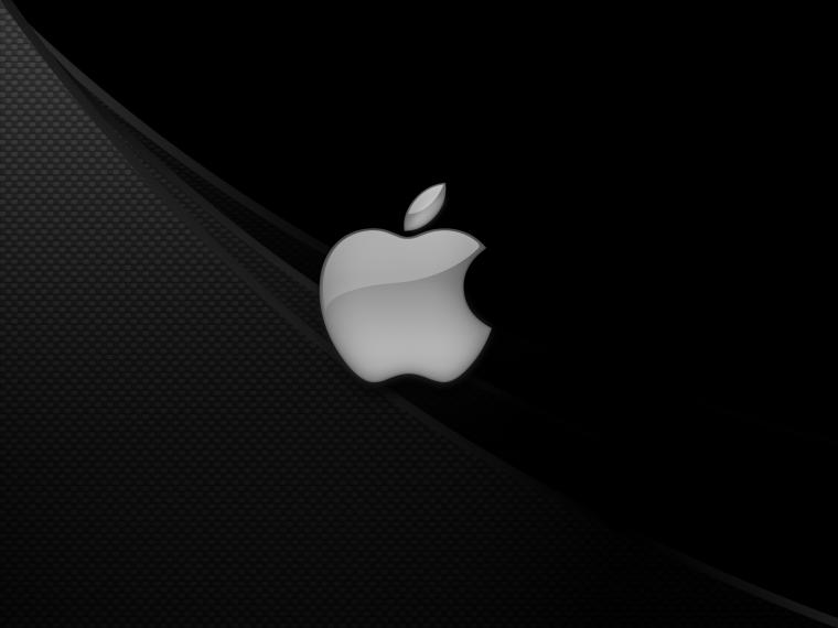 Apple Black and White HD Desktop Background Wallpapers