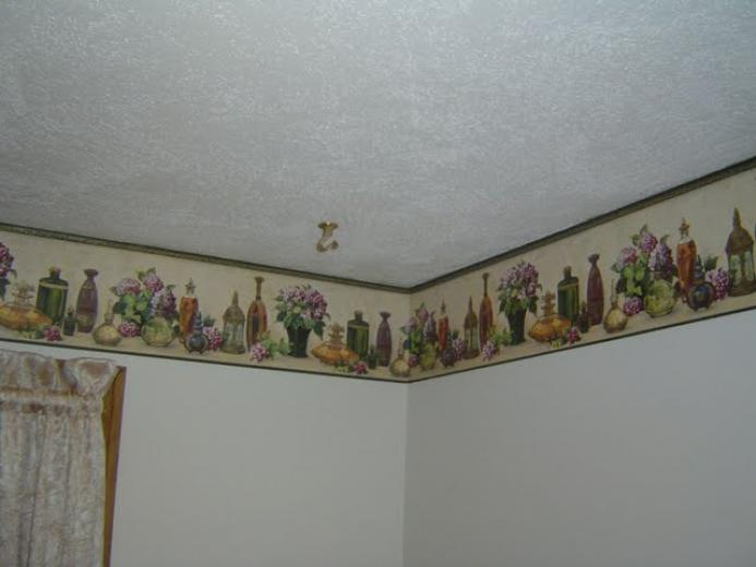 Wallpaper borders for bathrooms bathroom design ideas