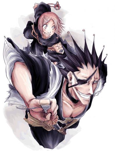 Bleach   Yachiru and Kenpachi   Gallery