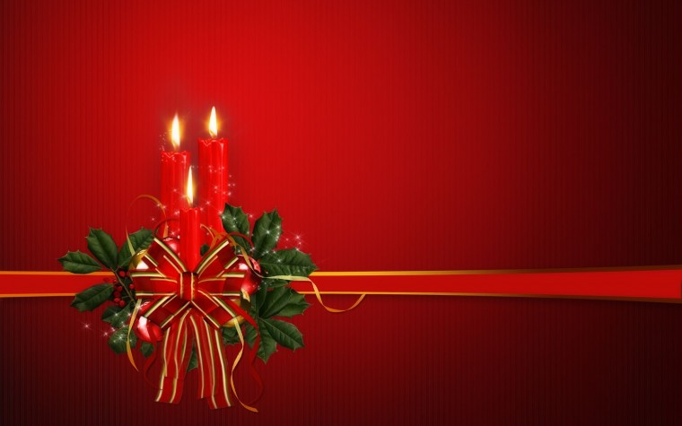 Christmas   Candles Wallpaper   Christian Wallpapers and Backgrounds