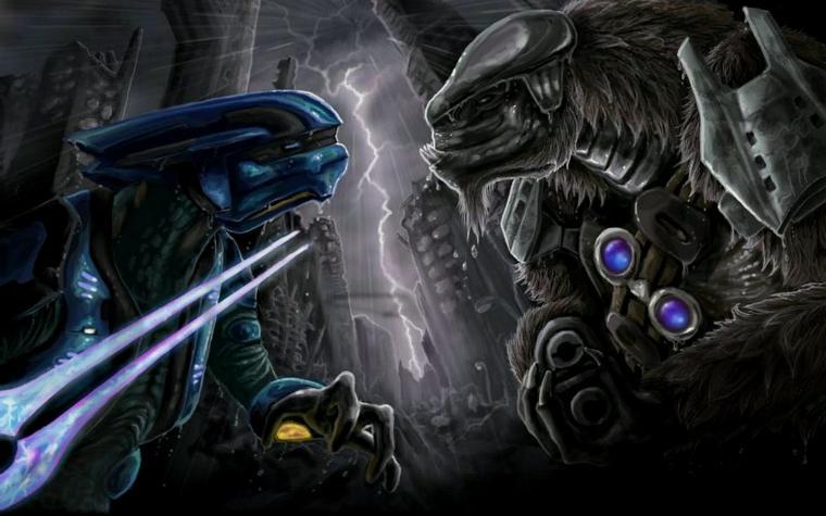 Halo Elite Wallpaper