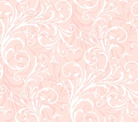 Light Pink Layered Scroll Wallpaper   Wall Sticker Outlet