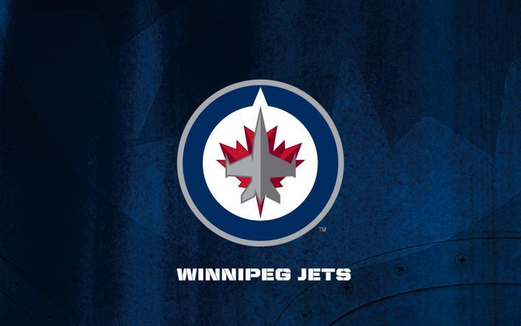 NHL Winnipeg Jets Logo Blue wallpaper 2018 in Hockey