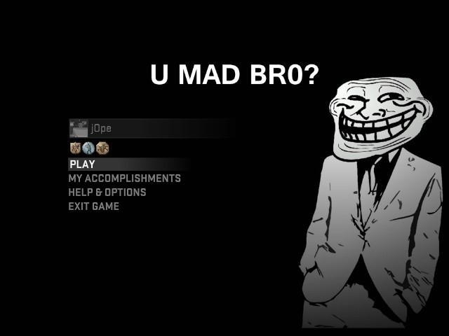 CSGO Trollface by jOpe GUI screenshot csgogamebananacom