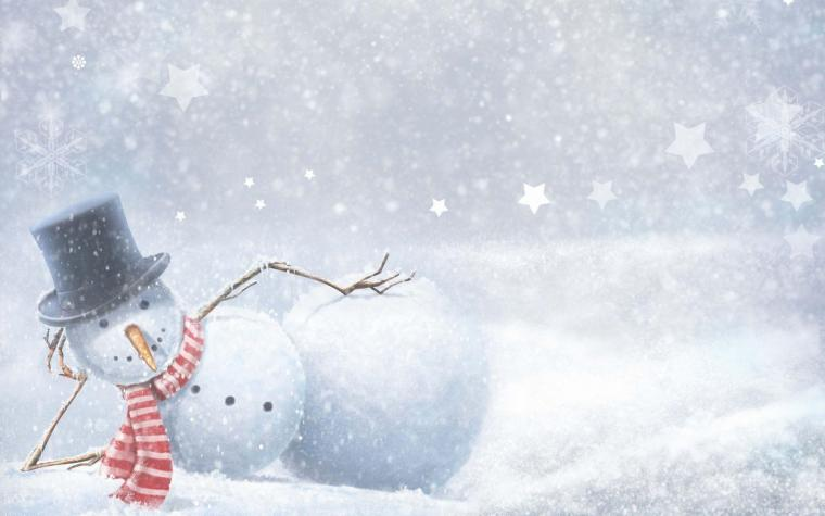 Winter Snowman Wallpapers