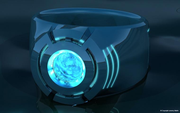 download Blue Lantern Power Ring by JeremyMallin [1131x707