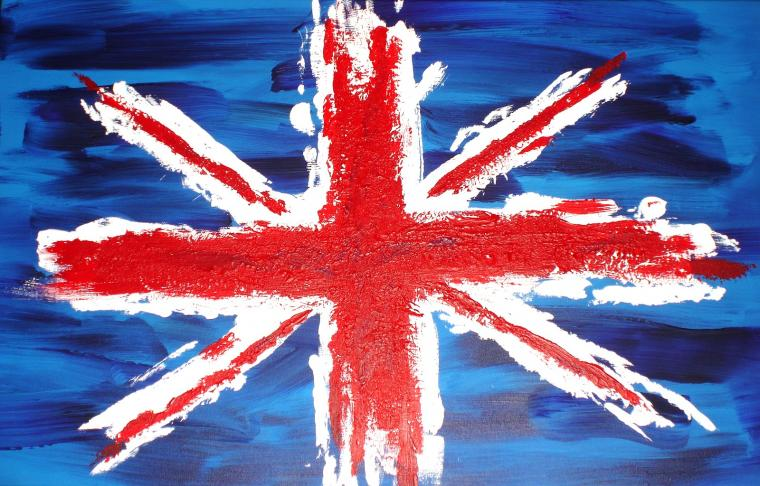 This is United kingdom or England flag wallpaper calledUnion jack