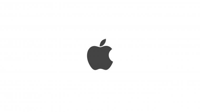 Apple logo black and white wallpapersc Desktop