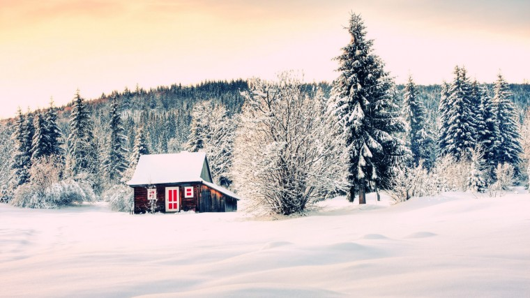 The Winter House Mac Apple Wallpaper Trip Mac Background Nature