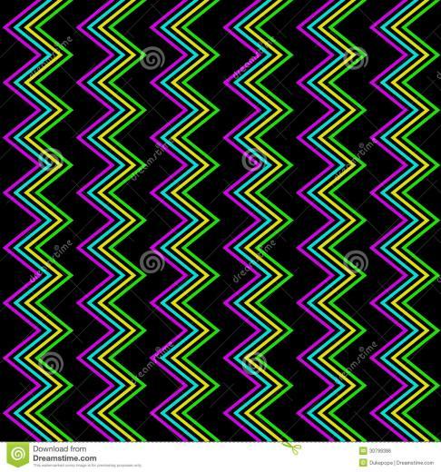 Neon Pattern Backgrounds Funky zig zag pattern