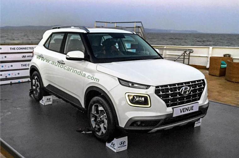 Hyundai Venue interior and exterior in images   Autocar India