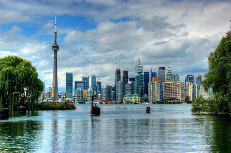 Wallpaper Toronto Ontario Skyline Canada 1920 1200 Picture