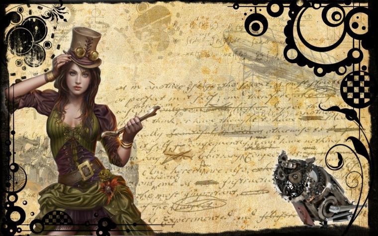 Miscellaneous Steampunk 1 desktop wallpaper nr 59257 by mc00078