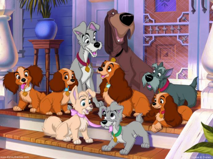 Lady And The Tramp Wallpaper   Classic Disney Wallpaper 7326007