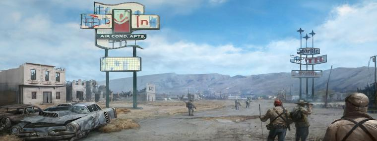 Fallout New Vegas Dual Monitor Wallpaper