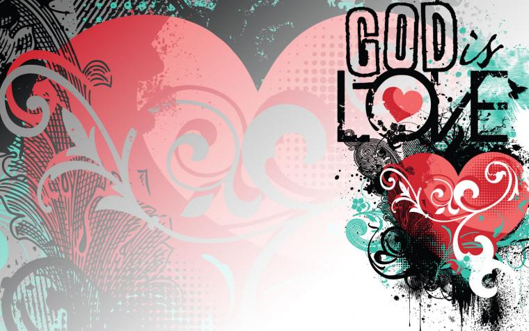 God is Love Wallpaper   Christian Wallpapers and Backgrounds