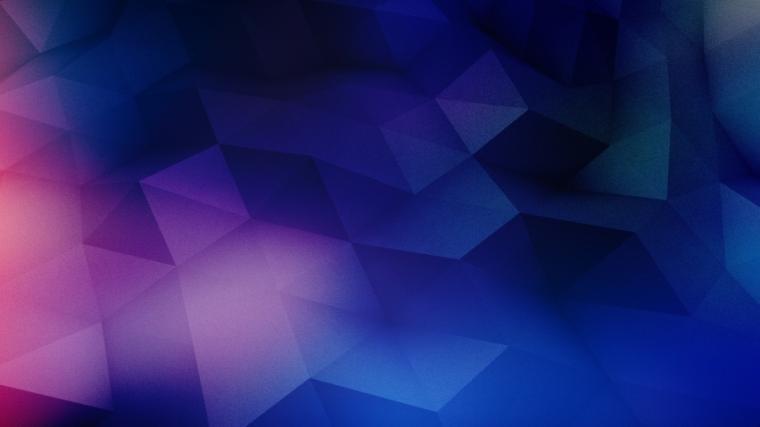 852x480 Blue Purple Geometric Shapes desktop PC and Mac wallpaper