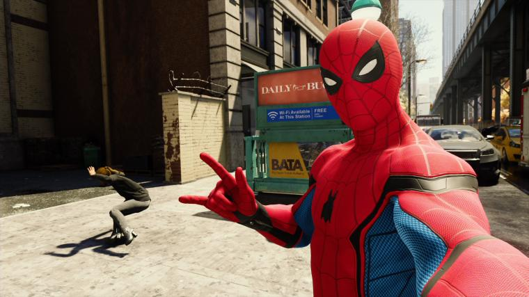 How To Unlock Spider Man PS4s Homecoming Suit   GameSpot