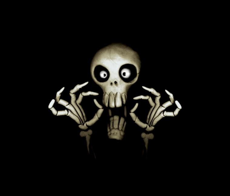 funny skull 1200x1024 screensaver wallpaper funny skull windows 7