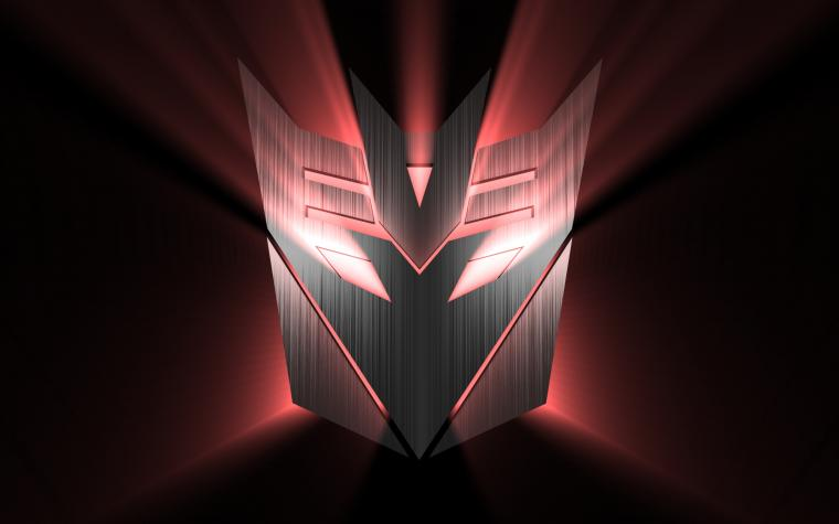 Decepticon logo wallpaper Wallpaper Wide HD