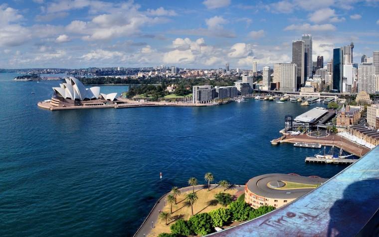Stad Sydney wallpaper HD steden Sydney Australi foto