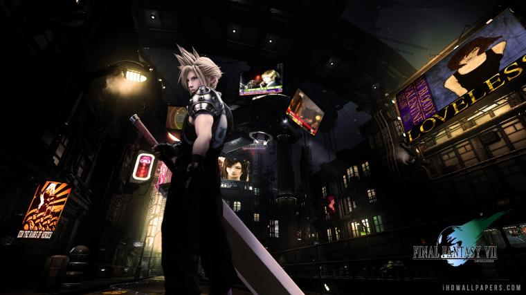 Final Fantasy VII HD Wallpaper   iHD Wallpapers